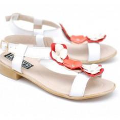 Sandale dama din piele naturala - Made in Romania PHCORAALB