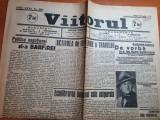 Ziarul viitorul 23 iulie 1935-ziua reginei maria,carol al 2 la biserica costesti