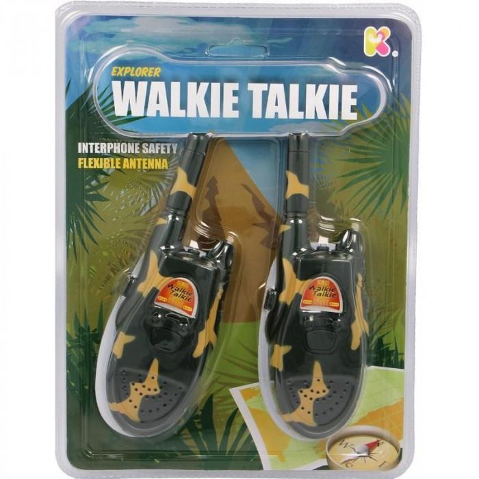 Set Walkie Talkie Micul Explorator