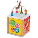 Cub cu 5 activitati, New Classic Toys