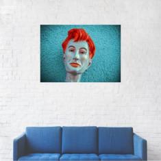 Tablou Canvas, Portret artistic papusa - 80 x 100 cm