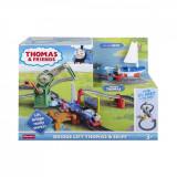 Set de joaca Thomas and Friends, tren electric cu pod