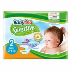 Scutece Babylino Sensitive 2 Mini, 3-6 kg, 26 buc.