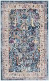 Covor Oriental & Clasic Myra, Albastru/Gri, 90x150, Safavieh