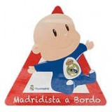 Autocolant Baby on board Real Madrid 1buc ManiaMall Cars