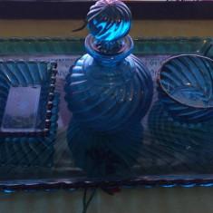 Cristal Baccarat Depose Paris Original Albastru