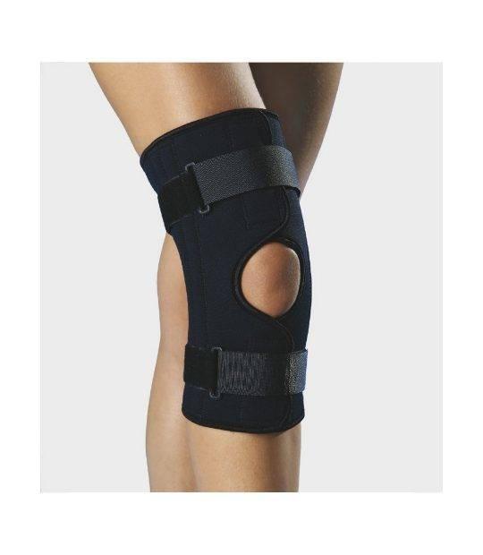Suport pentru genunchi Anatomic Help 1506 cu deschidere si intarituri metalice