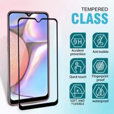 Folie de sticla Samsung Galaxy A10, 5D FULL GLUE Negru