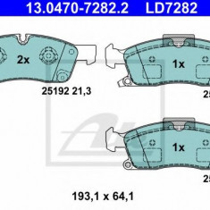 Set placute frana,frana disc MERCEDES M-CLASS (W166) (2011 - 2016) ATE 13.0470-7282.2