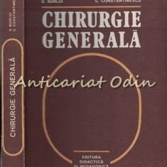 Chirurgie Generala - D. Burlui, C. Constantinescu