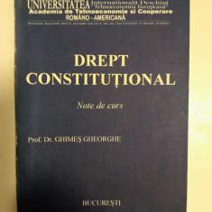 DREPTUL CONSTITUTIONAL