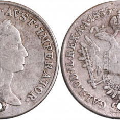 1835 - 20 kreuzer - Francis II - Imperiul Austriac