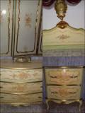 Dormitor baroc venetian,antic/vechi/vintage,Italia,anii30,lemn,rococo/ludovic, Sifonier, 1900 - 1949