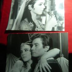 2 Fotografii din Filmul Seherezada 1963 cu Anna Karina si Gérard Barray