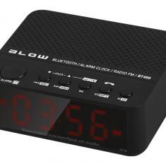Radio cu Ceas Multifunctional Blow cu Bluetooth, Afisaj LCD, Alarma, USB, MicroSD, AUX Jack, Difuzor si Functie de Apeluri Telefonice