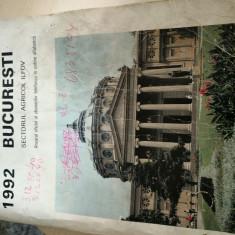 Carte Numere Telefoane RomTelecom Bucuresti 1992
