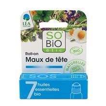 Roll On Contra Durerilor de Cap Eco So'Bio Etic 5ml Cod: 1334041
