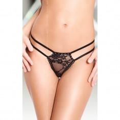 Bikini Femei Softline Negru S-L, S/M