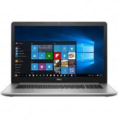 Laptop Dell Inspiron 5770 17.3 inch FHD Intel Core i3-7020U 4GB DDR4 1TB HDD FPR Windows 10 Home Silver 3Yr CIS