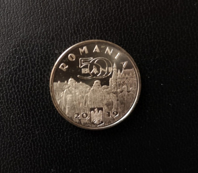 50 bani 2019, Ferdinand Întregitorul, România, UNC foto