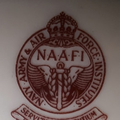 Vas porțelan Laeger Bavaria - Germania Zona americană NAAFI aprox. 1945