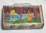 Jucarie veche de colectie tabla litografiata - Gentuta gradinita anii 1950 Rara