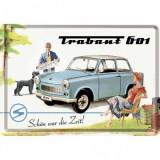 Placa metalica - Trabant Holiday - 10x14 cm