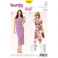 Tipar rochie Burda Style 6626