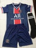 Echipament fotbal copii PSG Mbappe 7