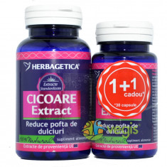 Cicoare Extract 60cps+30cps Pachet 1+1 Promo