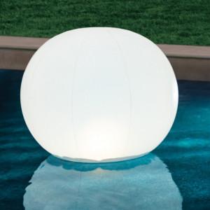 Glob plutitor Floating Intex, IPX8, 89 x 79 cm, 13 x LED, acumulator