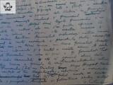 Manuscris - 2 pagini scrise si semnate de G Calinescu