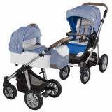 Baby Design Dotty 03 Navy 2017 Carucior 2 in 1