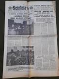 Ziarul Scanteia 28 octombrie 1989
