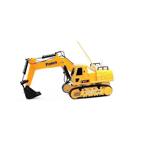 Excavator de jucarie cu telecomanda RC 12 8060E Galben