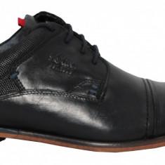Pantofi barbati din piele s.Oliver 5-5-13213-20 001 black