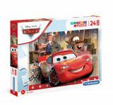Cumpara ieftin Puzzle Maxi Super Color Disney Cars, 24 piese