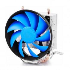 Cooler CPU Deepcool GAMMAXX 200T, Ventilator 120mm, Heatpipe-uri cupru,...