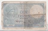 bnk bn Franta 10 franci 1939 circulata