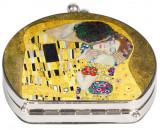 Oglinda Fridolin Klimt, Sarutul