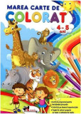 Marea carte de colorat (4-5 ani)