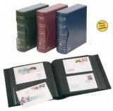 Album cu invelitoare ptr. 200 buc. scrisori/FDC-uri coperta albastru