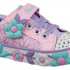 Pantofi sport Skechers Daisy Lites 10965N-PKMT pentru Copii, 21 - 23, 25, 27, Roz