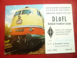 Ilustrata pt. Radioamatori - Locomotiva Germania 1969