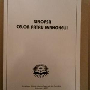 SCRIPTURA BIBLIA NOUL TESTAMENT - SINOPSA CELOR PATRU EVANGHELII (2000, 329 p.)