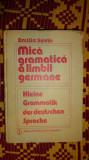mica gramatica a limbii germane 440pagini- emilia savin