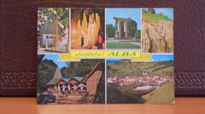 R.P.R. - ALBA IULIA JUDET - 6 VEDERI - NECIRCULATA - foto