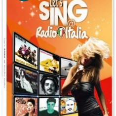 Wii Let's Sing Radio ITALIA  original Nintendo Wii clasic, Wii mini, Wii U