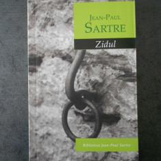 JEAN PAUL SARTRE - ZIDUL