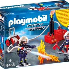 Playmobil City Action - Pompieri cu pompa de apa